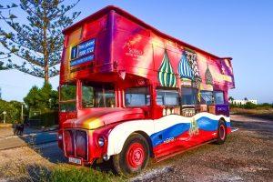 The new Man UTD bus
